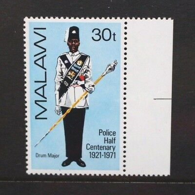 MALAWI 1971 Police Force 50th Anniversary. Set of 1. Mint Never Hinged. SG402.