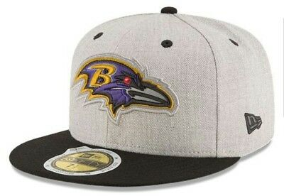 hot sales b4310 730d1 Baltimore Ravens New Era NFL Total Reflective 59Fifty Fitted Hat (Size 7 1 4