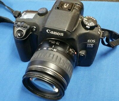 Canon eos 33v- SLR Film Camera- Authentic! Works Perfect- Must See!