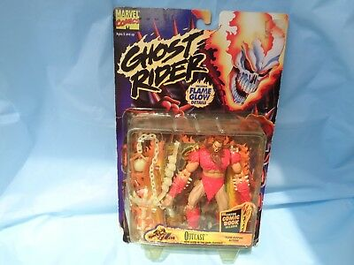 "Toy Biz Marvel Comics Ghost Rider 5"" Outcast Figure 1996 New"