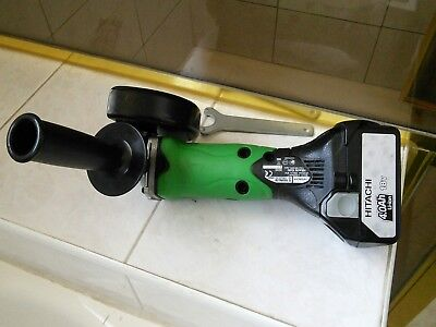 "HITACHI Grinder G18DSL(H5) 18V LI-ION 5"" 125mm & 18V Slide BSL1840 Battery"