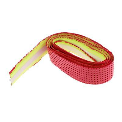 Super Anti-slip Racket Over Grips Bat Tennis Badminton Squash Tape Grip Red