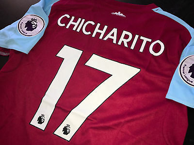 WEST HAM UNITED OFFICIAL CHICHARITO JERSEY SIZE S a0f7f2dcc