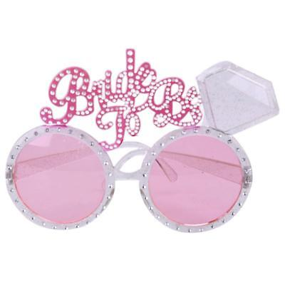 1Pc''Bride To Be'' Novelty Pink Glasses Hen Party Night Accessories  ge