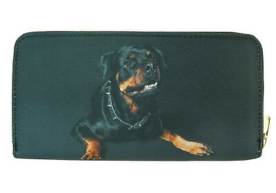Dog Wallet - Rottweiler on both sides - Black