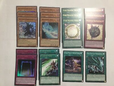 Dark Magician Deck Core with Magician of Dark Illusions, Circle, Navigation