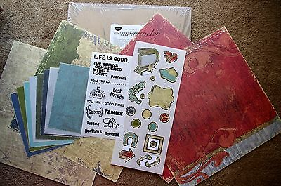 Creative Memories Rugged Everyday 12x12 Additions Kit Family Life Friends