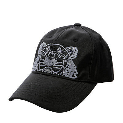 0fe4a197 KENZO Tiger Cap Mens Womens Black Hat 5AC301 F20 99 Adjustable Outdoor  Authentic