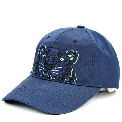 KENZO Tiger Cap Mens Womens Navy Hat 5AC301 F20 76 Adjustable Authentic Gift aa9870df4fd