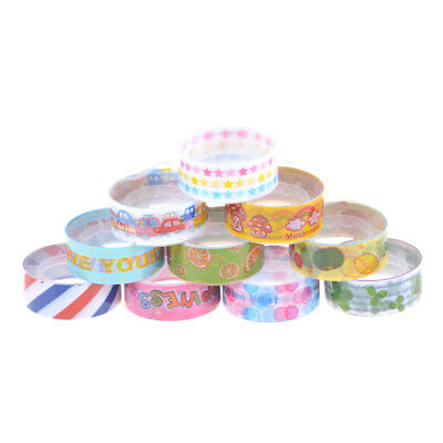 5XCartoon Adhesive Masking Tape Decorative Seal Tape DIY Stationery Scrapbook FT