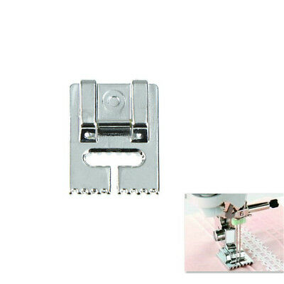 Household Multi-Function Sewing Machine Tank Presser Foot With 9 Grooves FT