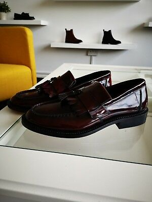 27dc69dd744 Blakeseys SCOOTER Mens Leather MOD Skinhead Tassel Penny Loafers Oxblood (Sample)
