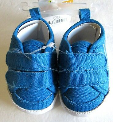bff09ae44 New Carter s Child of Mine Baby Boy Sneakers 0-3 Months Blue Champ Crib  Shoes