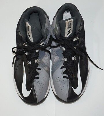 best service 868f5 f3f74 Mens Nike Air Max Stutter Step 2 Basketball Shoes Sz 8.5 Black White 653455  002