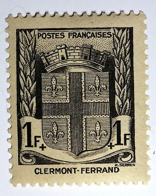 Timbre France Yt N°53 Clermont Ferrand  Armoirie Blazon Neuf ** Mint Mnh