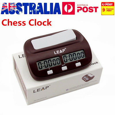 Chess Clock Timer Digital Chess Clock Two LED Screens Fashion Simple AU@