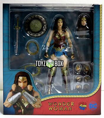 "In STOCK Medicom MAFEX DC Comics ""Wonder Woman"" Movie Action Figure"