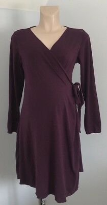 b5d094a284 HOT MILK MATERNITY Wrap Dressing Gown   Wrap Nightie Size Large 16 ...