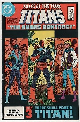 Tales of the Teen Titans #44 nice 1st appearance Nightwing 1984 Deathstroke