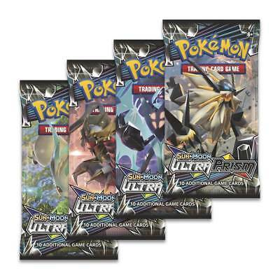 Pokemon Ultra Prism Booster Pack - Pokemon Trading Card Game Official Newest Set