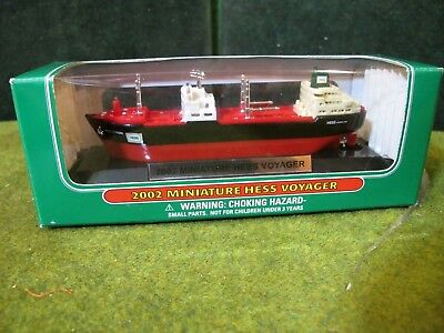 2002 Miniature  Hess Voyager ~NEW