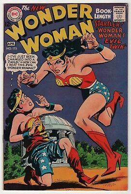 Wonder Woman #175 FN/VF 7.0 higher grade 1968 DC Silver Age create-a-lot & save
