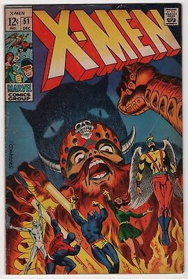 X-Men #51 1st appearance Eric the Red 1969 Jim Steranko art create-a-lot & save