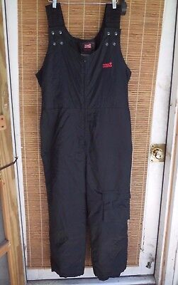 Tourmaster Black 1-Piece Motorcycle Riding Suit Pants Men's Sz XL