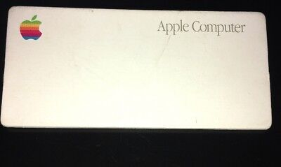 Vintage Rare Apple Macintosh Name Tag