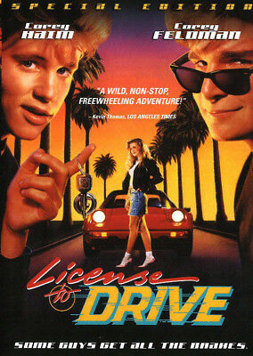 License To Drive (Special Edition 2016) DVD R1 80's Cult Classic