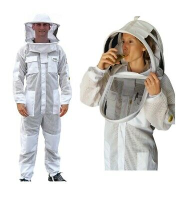 Oz Armour Beekeeping Suit Ventilated Three Layer Mesh Ultra Cool