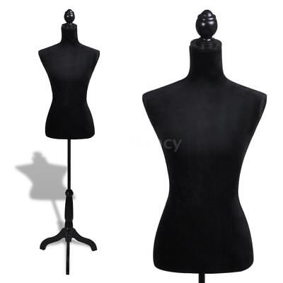 Ladies Bust Display Female Mannequin Female Dress Form Cloth Model S8O8