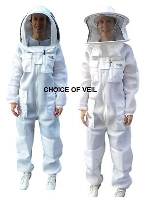 Oz Armour Beekeeping Suit Ventilated Double Layer Mesh Super Cool