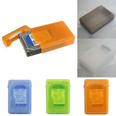 """3.5"""" Dustproof Protection Box for SATA IDE HDD Hard Disk Drive Storage Case Cool"""