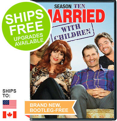 Married with Children Complete Season Ten 10 Tenth (DVD, 2015) NEW, Sealed
