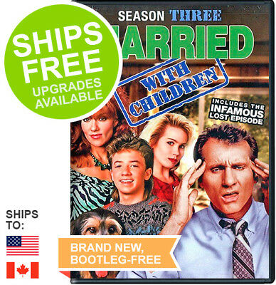 Married with Children Complete Third Season Three 3 (DVD, 2015) NEW, Sealed