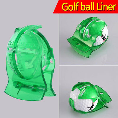 Golf Ball Line Liner Marker Template Drawing Alignment Putting Kits Equipment