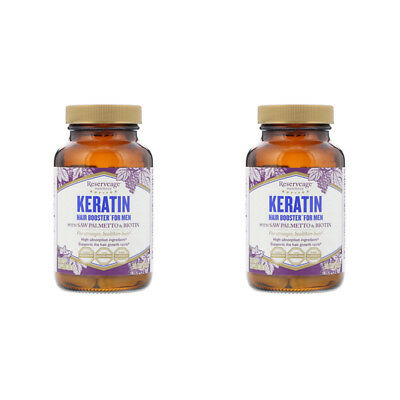 2X Reserveage Nutrition Keratin Booster For Men Dietary Supplement Body Care