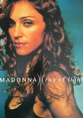 "Madonna Ray of Light Original WB Record Promo Fold Out 8"" x 12"" (30cm x 21cm)"