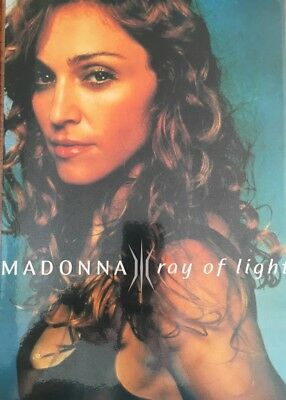 "Madonna - Ray of Light Record Label Laminated Promo Sheet 8"" x 12"" (30cm x 21cm)"