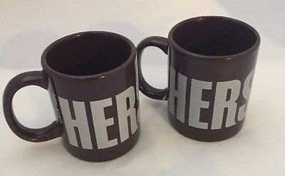 HERSHEY Chocolate Coffee Mugs (Set Of 2)