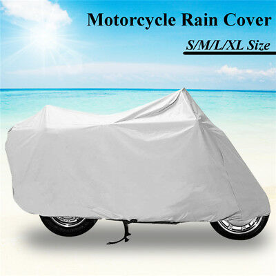 S/M/L/XL  Waterproof Bike Motorcycle Cover Outdoor Scooter Rain Dust Protective