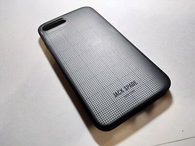 on sale 52eaf 7cace JACK SPADE PRINTED Clear Case iPhone 8 Plus 7 plus Graph Check
