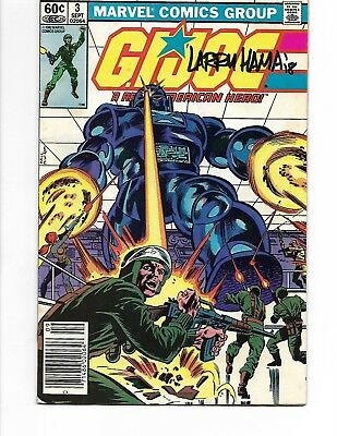 G.I. Joe #3 First Print Signed by LARRY HAMA Mid to High Grade