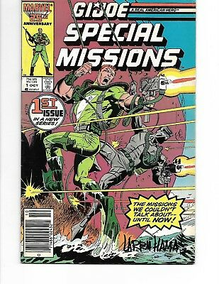 G.I. Joe Special Missions #1 Signed by LARRY HAMA