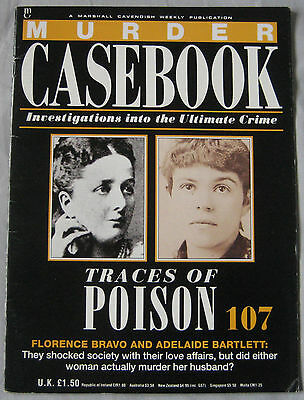 Murder Casebook Issue 107 - Traces of Poison, Florence Bravo, Adelaid Bartlett