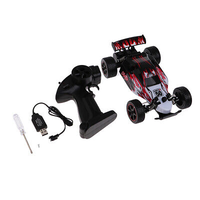1:20 Radio Remote Control Crawler Off-Road Car Model RTR Red Shell w Chassis