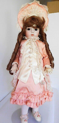 """Antique French Reproduction 23"""" Bru Jne Bisque by Lois Moore Seeley Mold"""