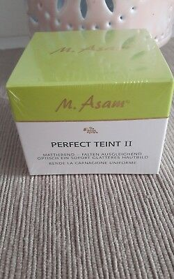 M. Asam Perfect Teint II retinol-peptid komplex - basis-mattes finish 50ml