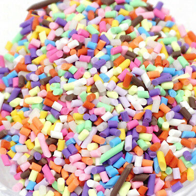 1 Box Slime Clay Sprinkles For Filler For Slime DIY Supplies Candy Fake Cake Hot